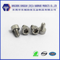 SUS304 torx cheese head machine screw triangle thread screw
