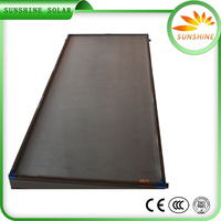 Energy Saving Stainless Steel Solar Water Heating Flat Plate Solar Collector Price