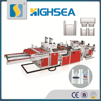 wenzhou small-scale high-speed plastic bag making machine