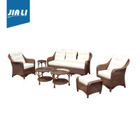 Reasonable & acceptable price Patio outdoor furniture, rattan garden sofa,luxury sofa