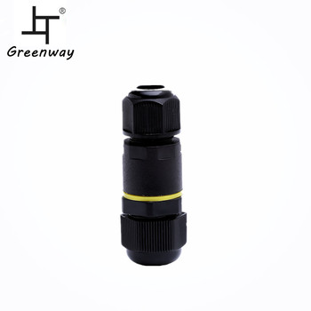 Greenway hot sale 9A 450VAC IP68 waterproof connector waterproof LED connector connector waterproof 2 pin