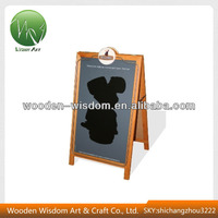 2016 Hot Sales Double Sides Black A Board Poster Board