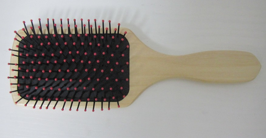 detangling PADDLE hair BRUSH with flexible air cushioned