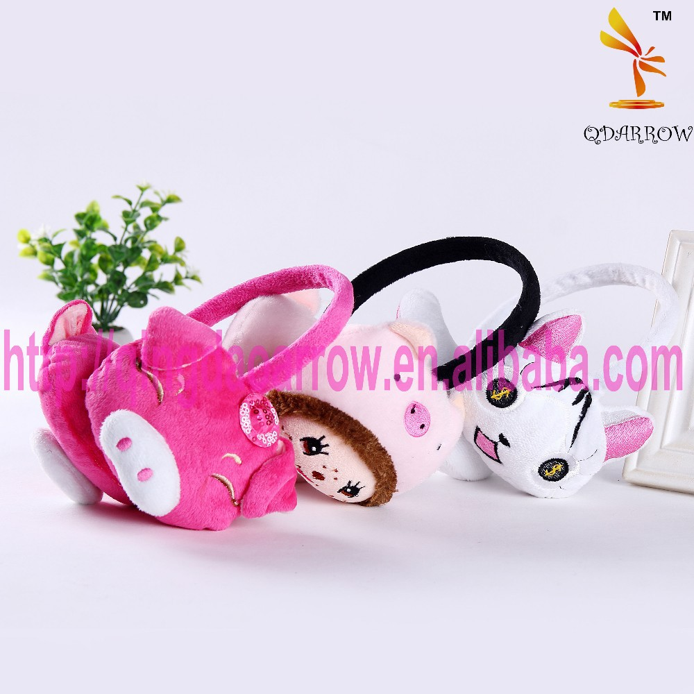 the colorful animals head shape Headwear & ear muff