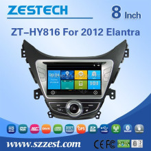 2 din touch screen car dvd gps for Hyundai Elantra 2012 car dvd gps with radio RDS 3G BT