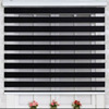 motorized polyester auto zebra curtains roller shades combi blinds
