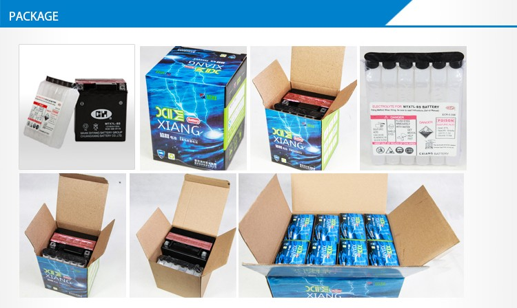 dry cell battery 12v 9ah for Hero Honda 125cc motorcycle