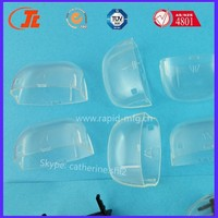 CNC machining Vacuum casting transparent PMMA PC prototyping factory directly transparent prototyping