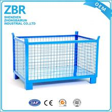 High Quality Warehouse Roll Steel Wire Mesh Cage