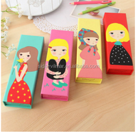 Excellent quality cartoon low price pencil case , pencil case for kids / girl