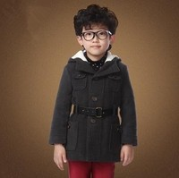 NEW ARRIVAL,BOY WINTER DRESS COATS,WOOL THICKEN COAT FOR KIDS