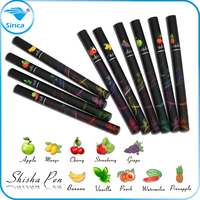 watermelon and strawberry flavours disposable shisha pens/electronic cigarettes from shisha time