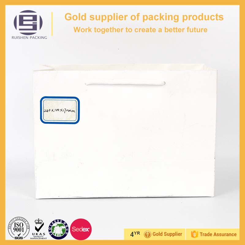Hot sales medium size of new products paper bag for shopping
