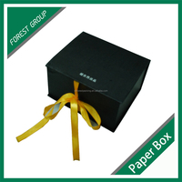LUXURY FOLDABLE MAGNETIC CLOSURE GIFT BOX WHOLESALE PAPER GIFT BOX WITH RIBBON