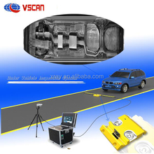 Portable Under Vehicle inspection system for car park entrance, border to check vehicle security