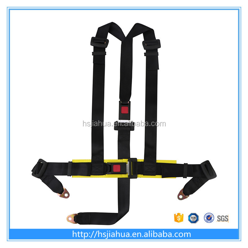 low price 2 inches 4 PointsType and Polyester Material 4 Point Sport Car Racing Harness