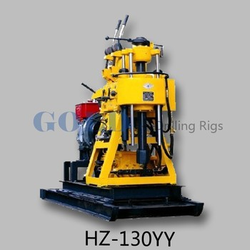Popular HZ-130YY core drilling rig, truck and trailer mounted drilling rig