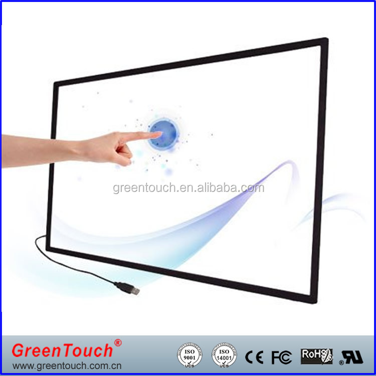 GT-IR-F55 55inch Multi Touch frame IR touch display Touch overlay MAC,Linux,Android,Windowsystem for TV,<strong>Monitor</strong>
