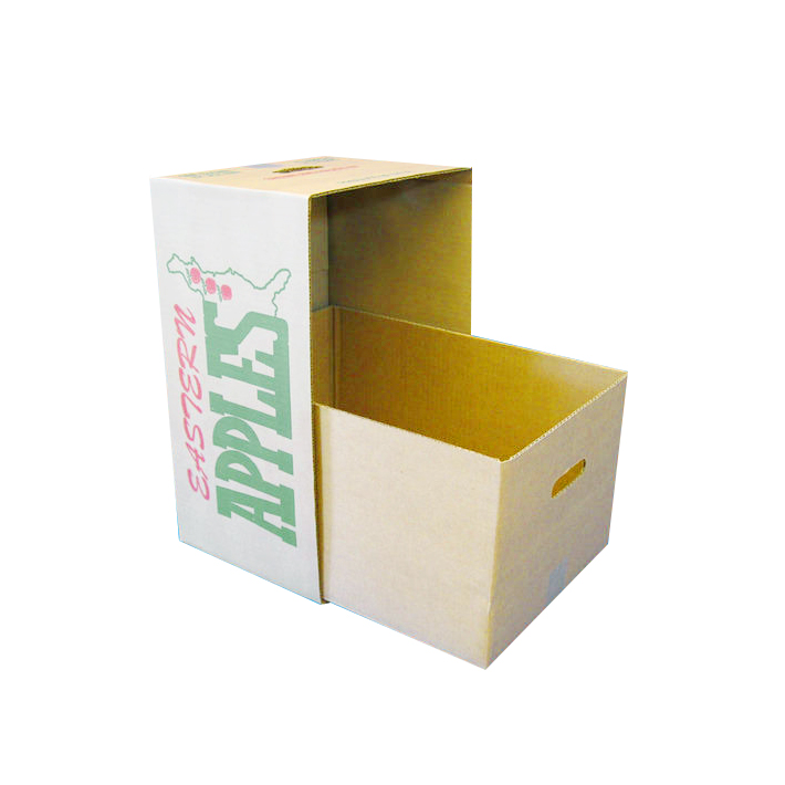 wholesale corrugated fruit vegetable lid-off packing box