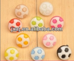 football face shape plastic buttons with shank
