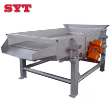 Linear vibrating screen machine with magnet separate iron and kelp