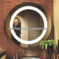 Round/Oval Mirror Light Makeup Mirror With LED Light