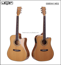41 inch high quality cheap electric acoustic guitar with EQ