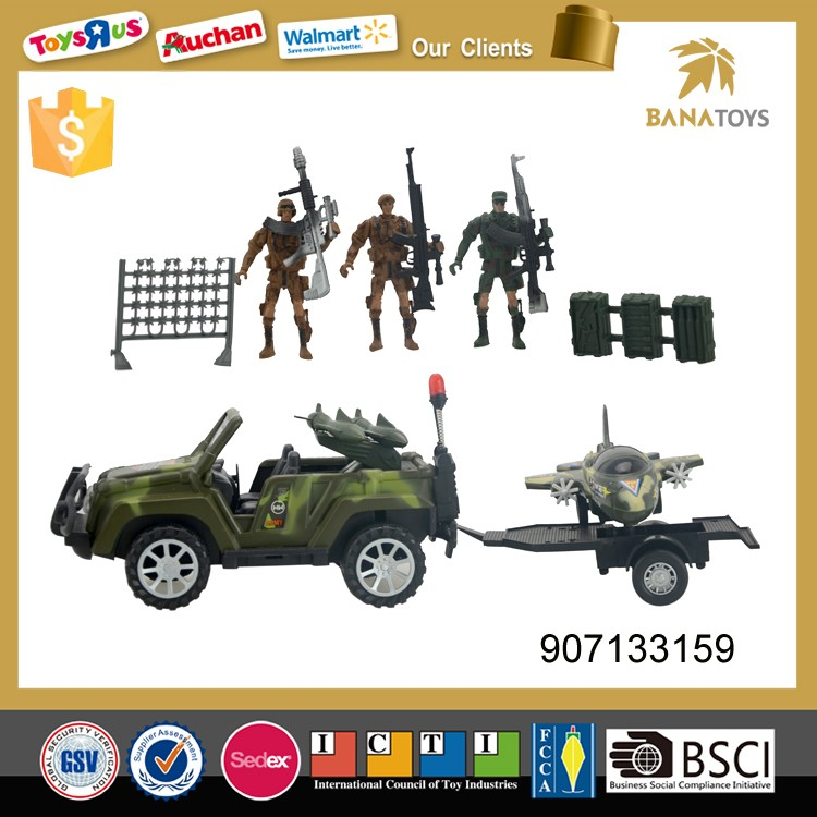 Boys army soldier play set military toys