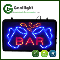 advertising & business led bar signs