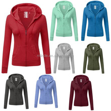 High Quality Clothing Factory Manufacturer Factory French Terry Fleece Cheap Plain Woman OEM Fitness Wholesale Hoodies