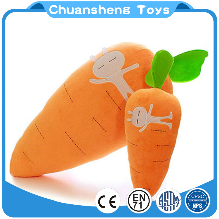 CHStoy stuffed plush toy fruit cute orange carrot doll pillow