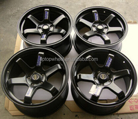 Replica japanese replicas alloy wheels fit for BENZs AUDI VW TOYOTA HONDA kiart rims,