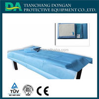 excellent hospital products/medical supply/hospital rubber bed sheets