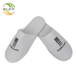 Comfortable closed toe SPA & Resort terry slipper with EVA sole