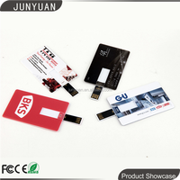 Business Card USB Flash drives with your company logo for gift