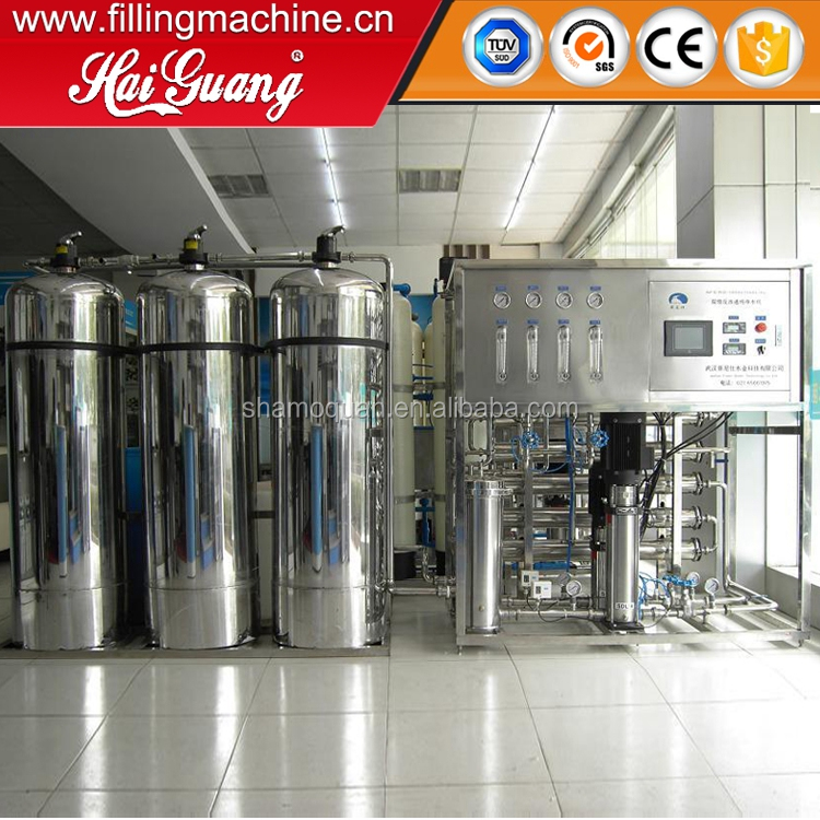 Reverse osmosis membrane filtration purification ro water treatment system