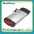 Samsung rear carrier 36V 9Ah Electric Bike Li ion Battery Pack