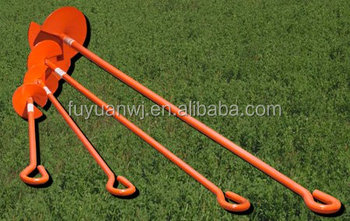 2014 hot sale powder coated earth anchor