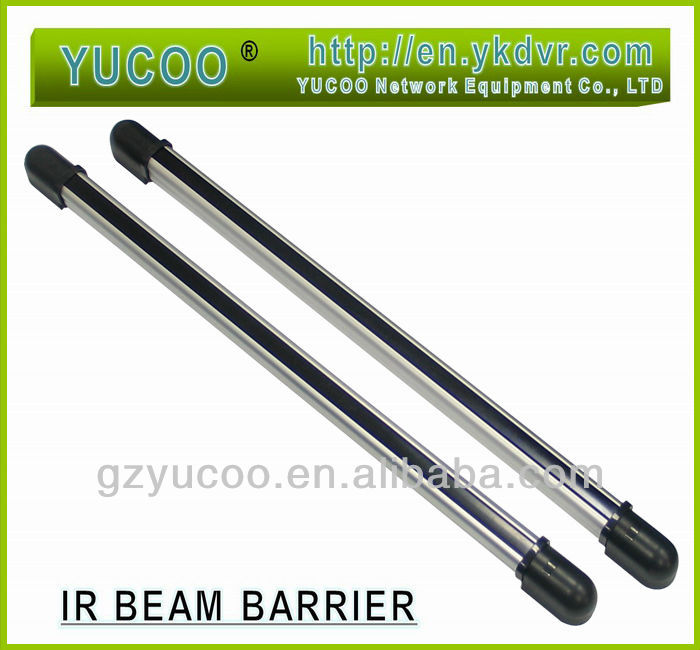 128cm Length Hidden 6 IR Beam Infrared Barrier Detector For Home Yard Window Gate fence