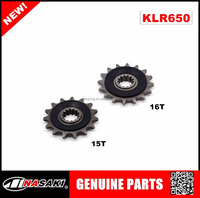 New NASAKI brand motorcycle accessories sprocket 15T For kawasaki klr650 2008-2017 motorcycle parts KLR650 small teeth 15T / 16T