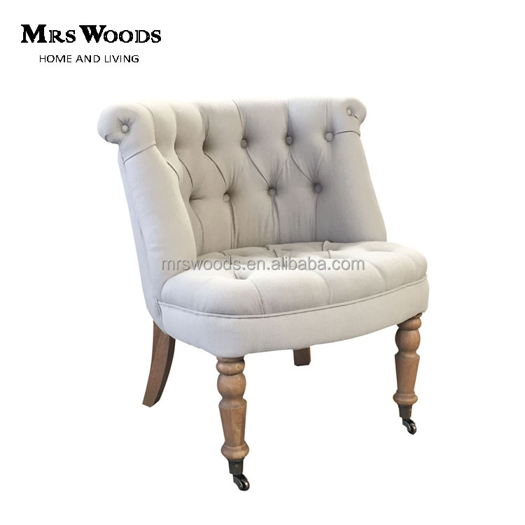 Tufted Wooden Frame Tub Chair - Buy Wooden Frame Tub Chair,Wooden ...