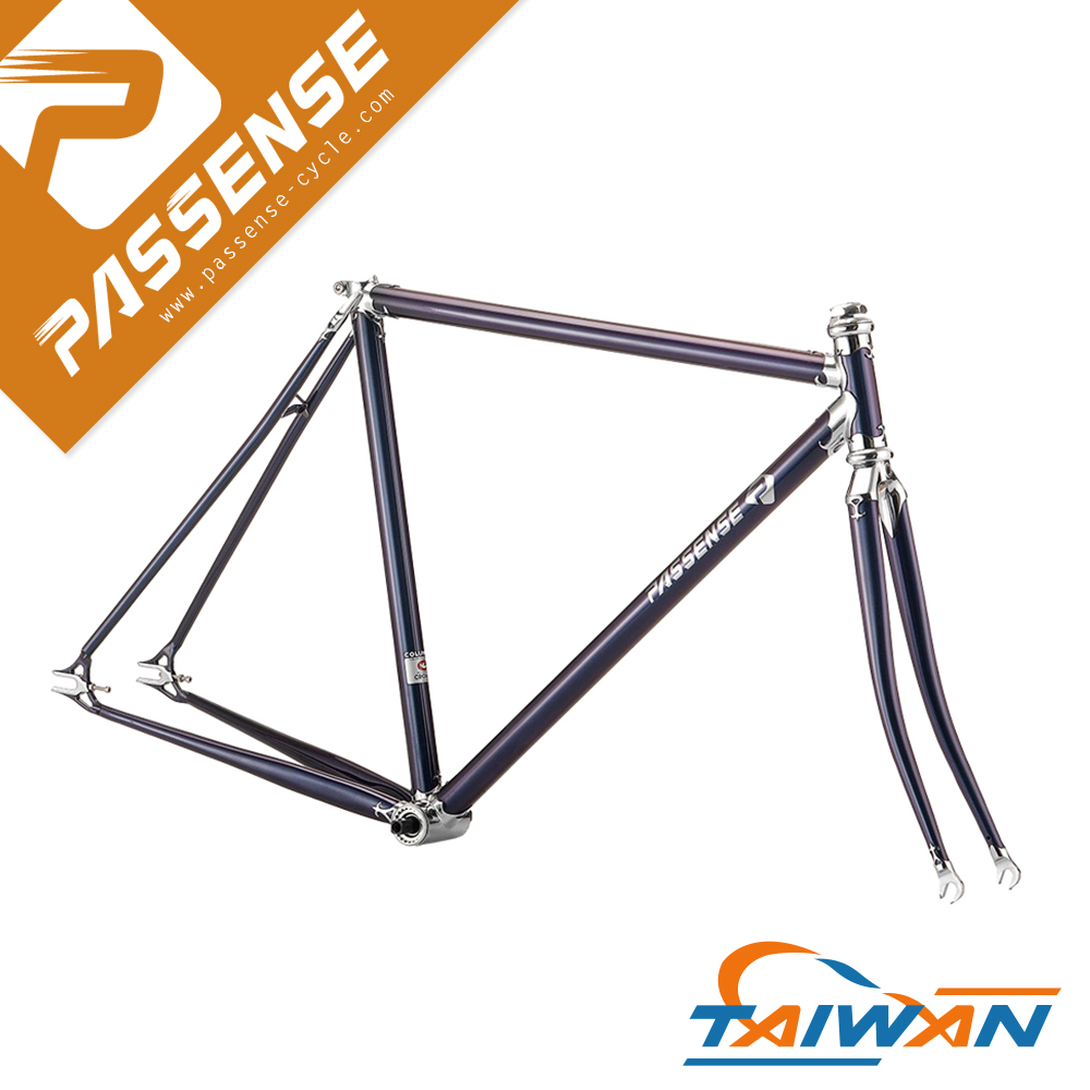 Best sell Columbus steel fixie bike frame Lug frame High quality