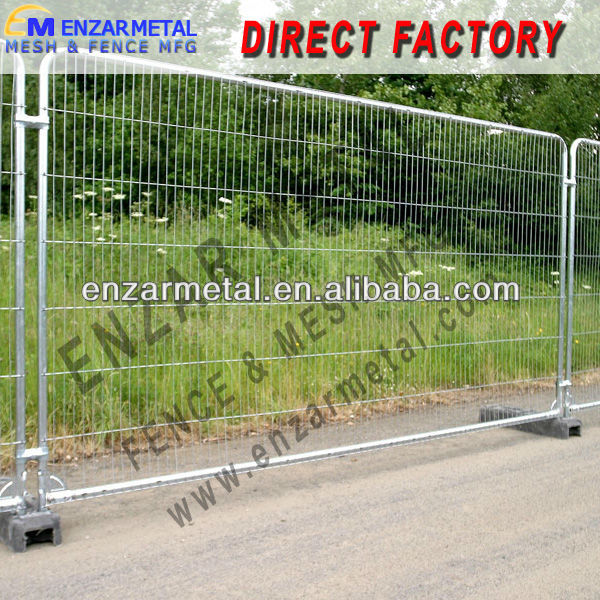 New Discount!!! Australia Standard Mobile Fence /Removable Temporary Fencing /Pedestrian Barricades