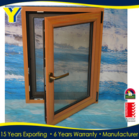 Australia standerd aluminum window /double glazed windows /german tilt and turn aluminium windows