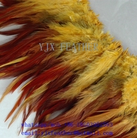 2016 wholesale rooster saddles feathers for hair extensions cheap