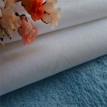 High Quality Wholesale Bedding Fabric White Plain Cotton Fabric