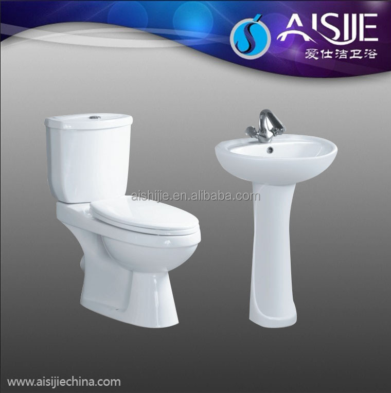 B1102 Chaozhou Manufacturers Washdown Two Piece Toilet
