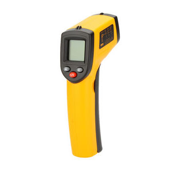 Non-cntact Digital Infrared IR Thermometer, Laser Temperature, Gun Tester Range