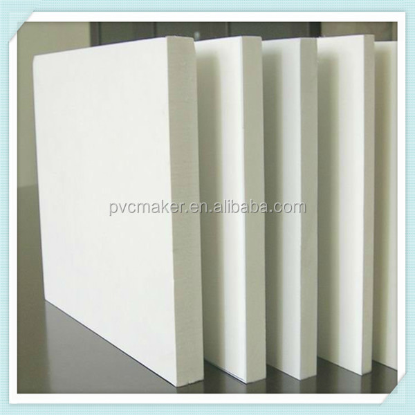 Green 2015 hot sale Hard PVC Foam Boards For laminating