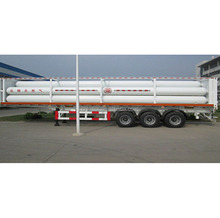 3 axles CNG semi trailer for sale